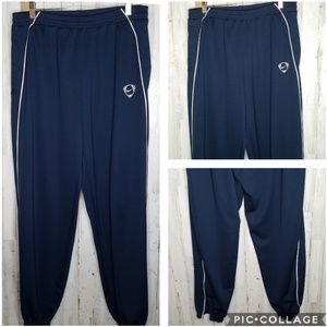 Nike Athletic Jogger Pants Navy Blue Pockets